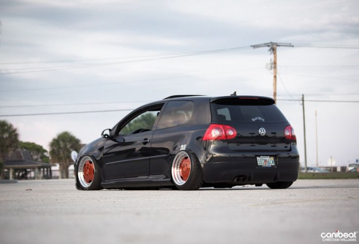 Volkswagen GTI tuning custom wallpaper