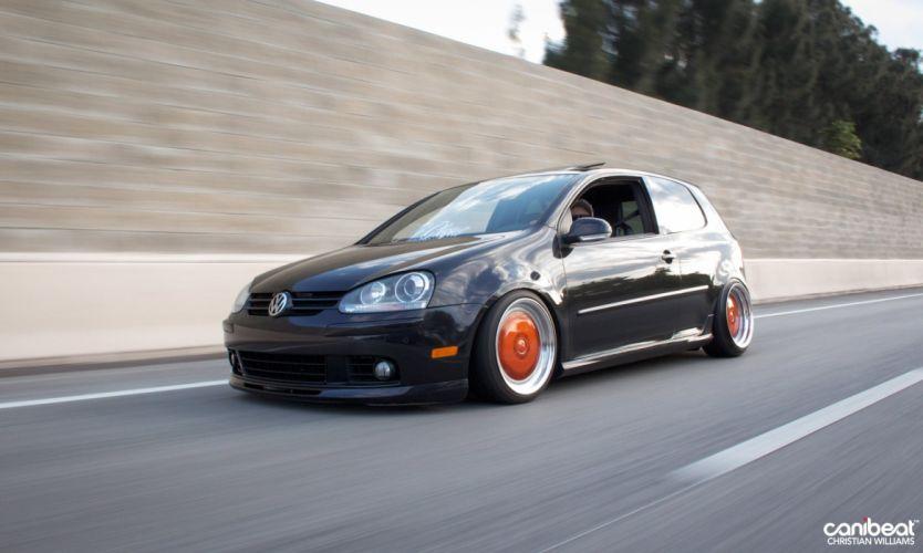 Volkswagen GTI tuning custom wallpaper