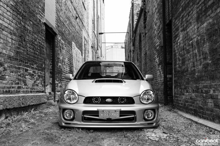 2002 Subaru WRX tuning custom wallpaper