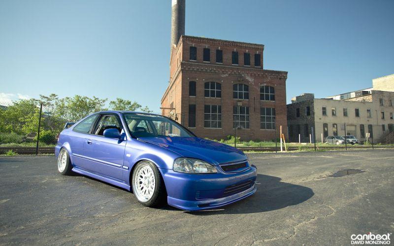 Honda Civic tuning custom wallpaper