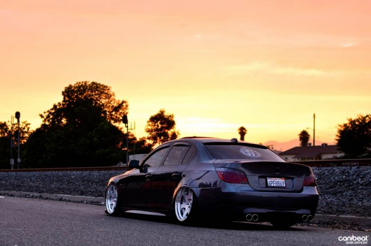 2008 BMW 528 tuning custom wallpaper