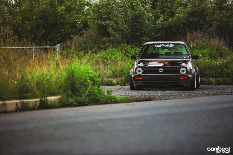 MK2 Volkswagen Jetta Coupe tuning custom wallpaper