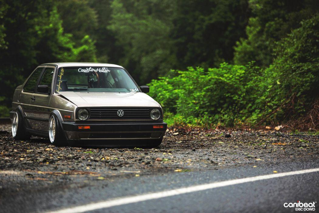 Mk2 Volkswagen Jetta Coupe Tuning Custom Wallpaper 1920x1280 720883 Wallpaperup