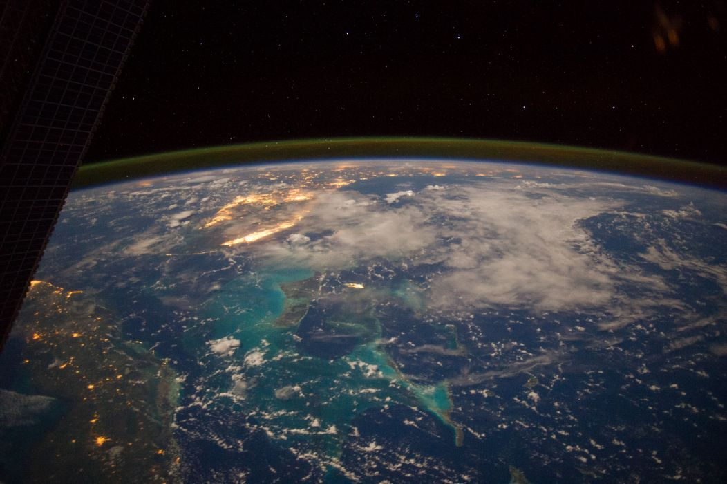 The Carribean Florida From Space Nasa Bahamas Cuba earth planet wallpaper