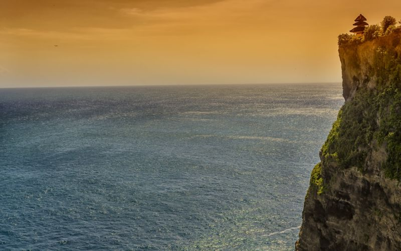 Rock Indonesia Bali Sea Seascape Ocean Ungasan cliff ocean wallpaper