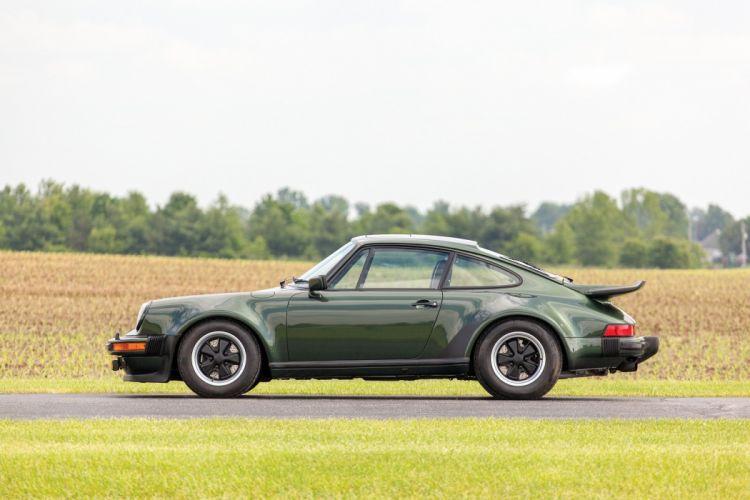 Porsche Turbo Carrera Prototyp 930 coupe cars green 1975 wallpaper