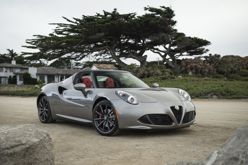 2015 Alfa Cars Romeo 4c Spider Us Spec Wallpaper 1600x1068