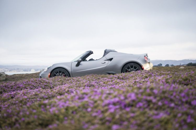 2015 alfa cars Romeo-4C spider US-spec wallpaper