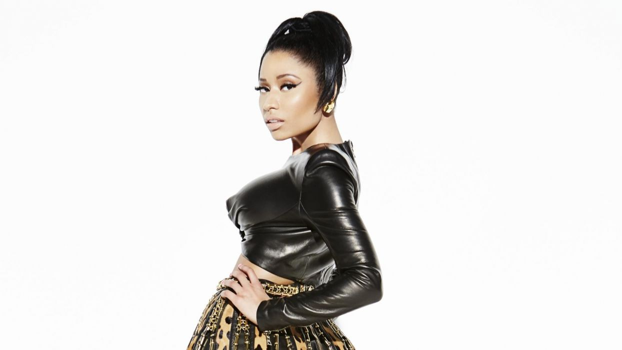 NICKI MINAJ pop r-b hip hop rap rapper singer sexy babe d wallpaper
