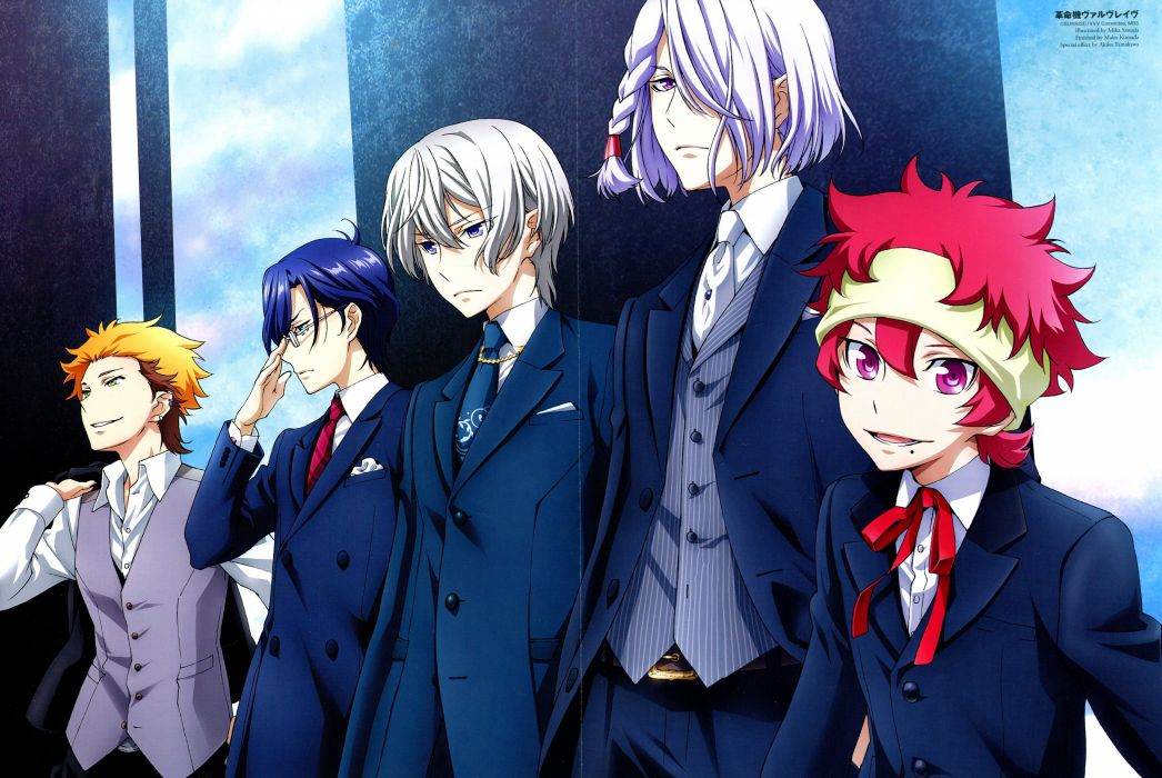 Kakumeiki Valvrave Series anime series group guys males wallpaper