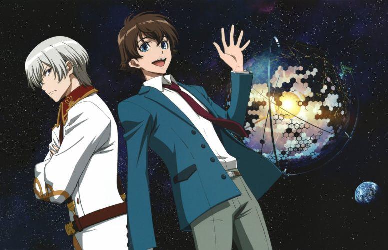 Kakumeiki Valvrave Series anime males group wallpaper