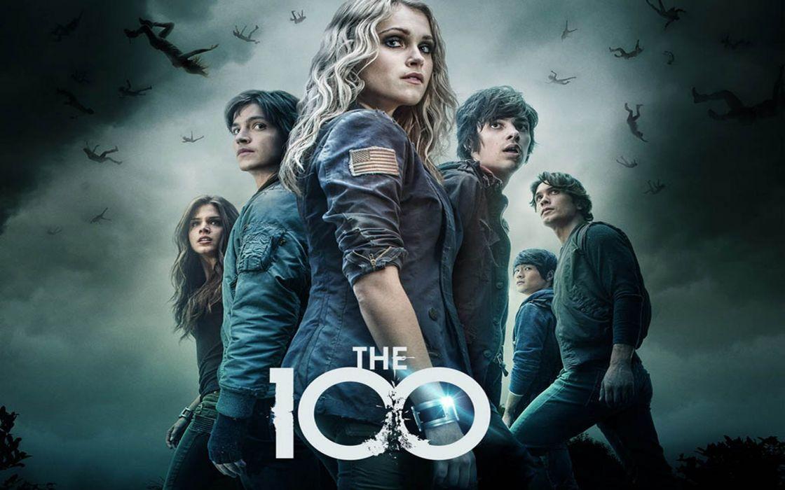 the 100 serie tv ciencia ficcion aventuras wallpaper