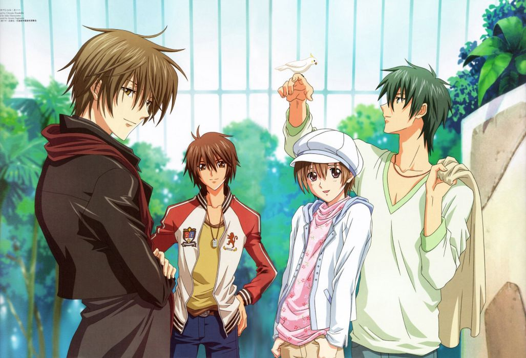 anime manga boy and girl: Special A Series Anime Group Friend Girls Boys Beautiful