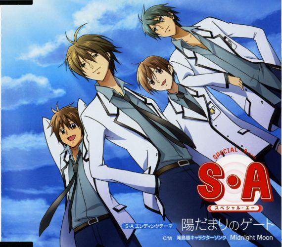 Special A Series Kei Takishima Character Jun Yamamoto guys anime wallpaper