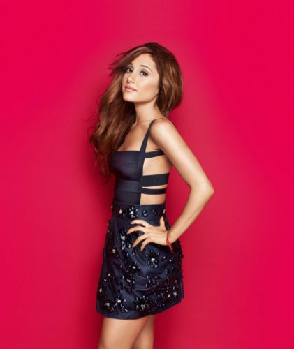 ARIANA GRANDE singer pop r-b actress brunette sexy babe wallpaper