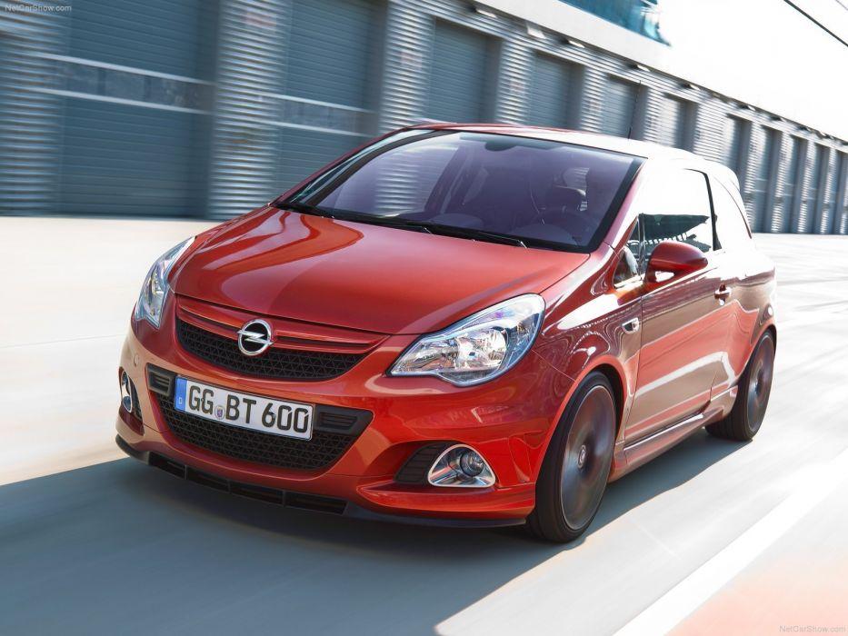 Opel Corsa OPC Nurburgring Edition 2011 cars wallpaper