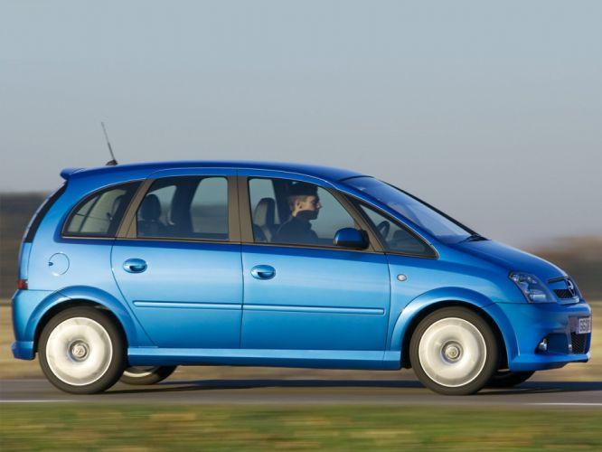 Opel meriva OPC 2006 cars blue wallpaper