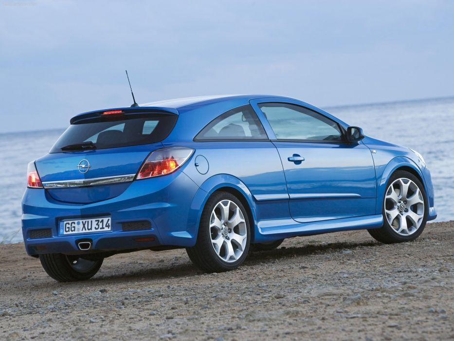 Opel Astra Opc 2006 Cars Blue Wallpaper 1600x1200 721826