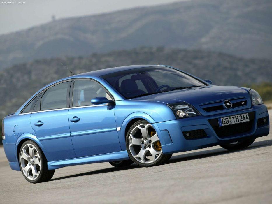 Opel vertra twin turbo OPC 2006 cars blue wallpaper