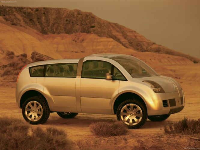 Citroen C-Crosser Concept cars 2001 wallpaper