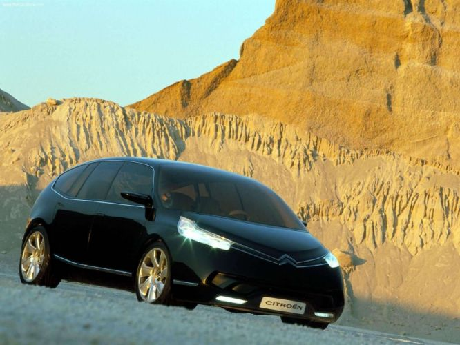 Citroen CAirlounge Concept cars black 2003 wallpaper