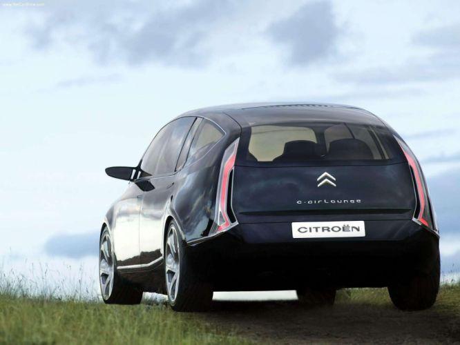 Citroen CAirlounge Concept cars black 2003 wallpaper