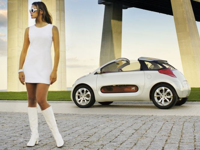 Citroen C-Airplay Concept cars 2005 wallpaper