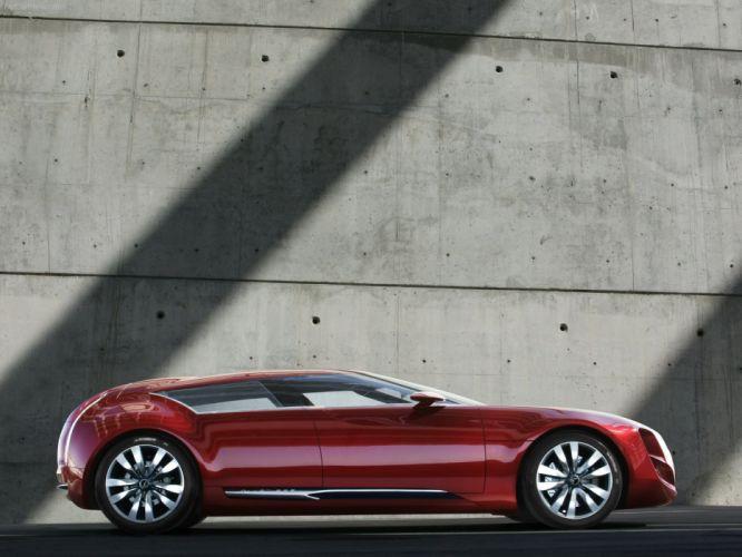 Citroen C-Metisse Concept cars red 2006 wallpaper
