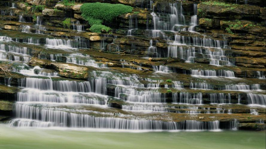 Macro New Taipei City Waterfall Taiwan Shifen Waterfall wallpaper