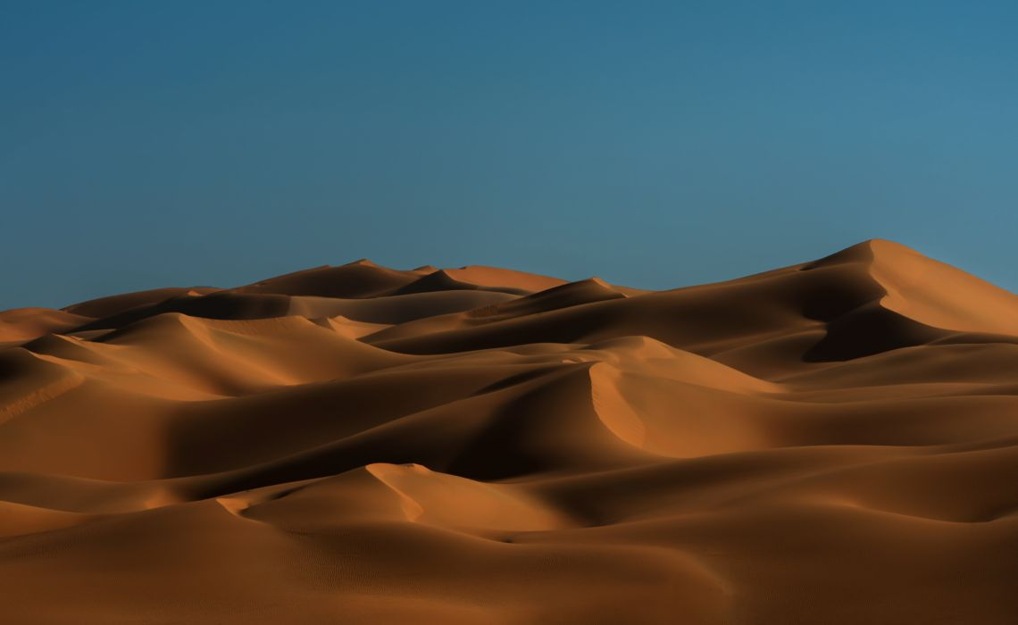 Landscape Rub Al-Khali Desert United Arab Emirates Arabia Dune Sand wallpaper