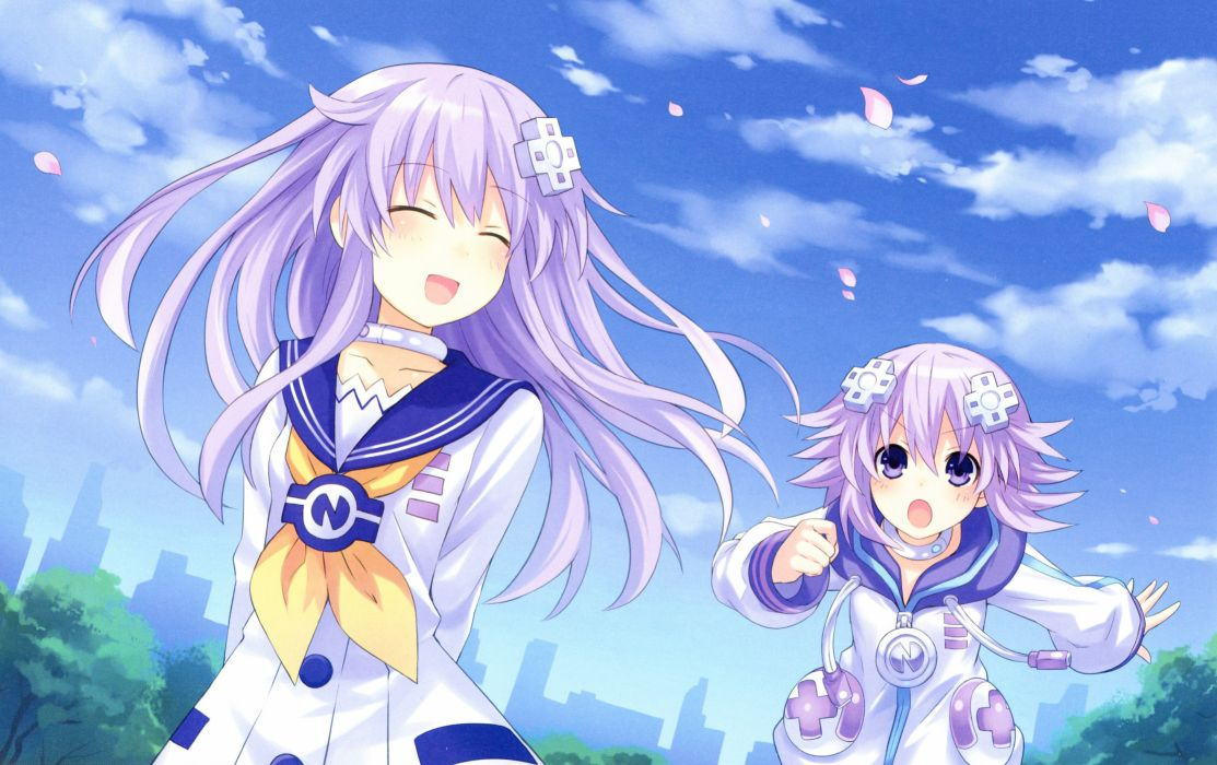 Hyperdimension Neptunia Negear Neptune wallpaper