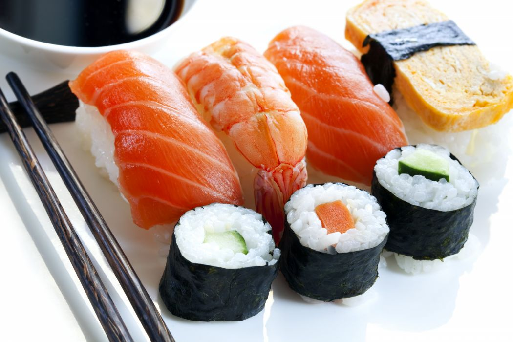 Sushi japanese food rice japan asian oriental 1sushi fish for 0 5 japanese cuisine