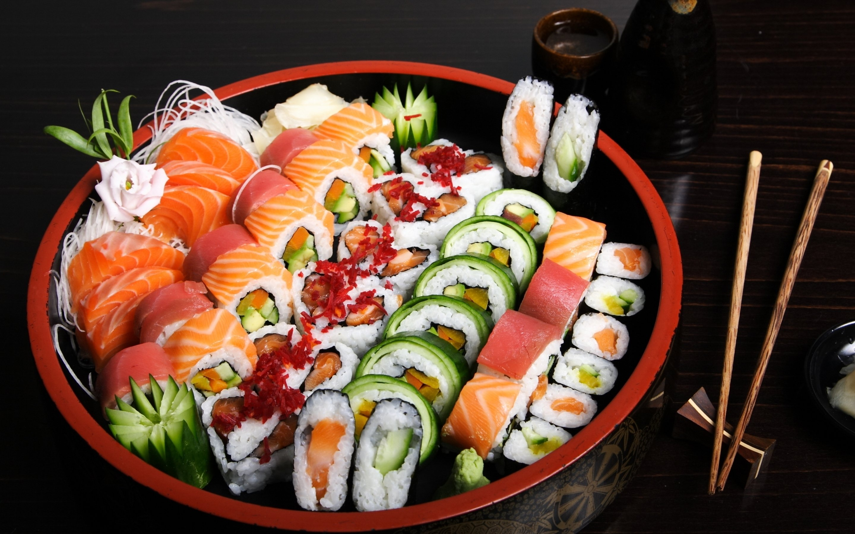 SUSHI japanese food rice japan asian oriental 1sushi fish seafood ...