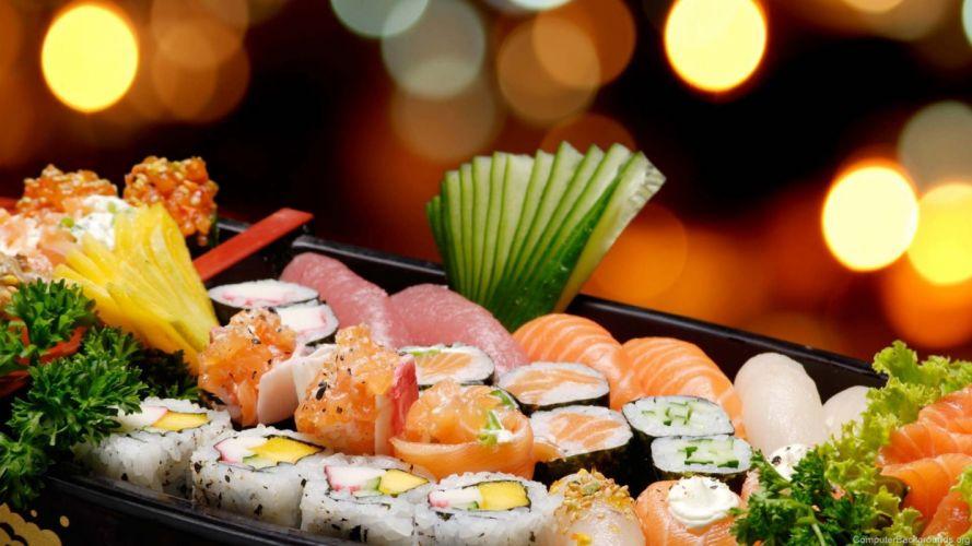 SUSHI japanese food rice japah asian oriental 1sushi fish seafood wallpaper