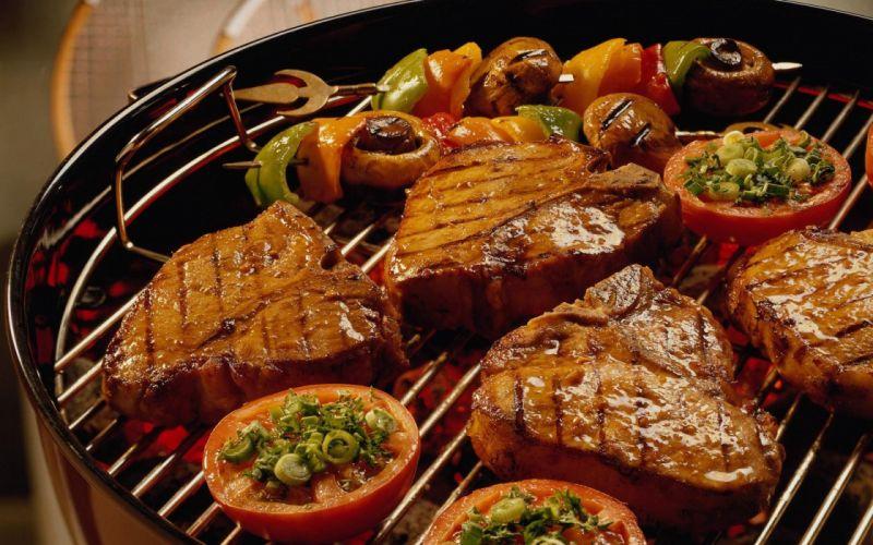 asado carne parrillada argentina wallpaper