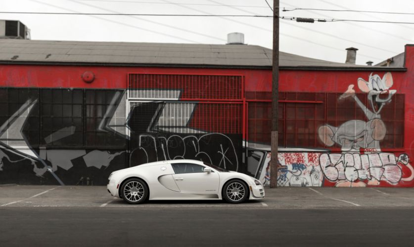 Bugatti Veyron Super Sport US-spec cars supercars white 2010 wallpaper