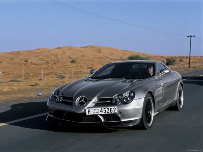 Mercedes Benz SLR McLaren 722 Edition cars supercars 2007 wallpaper