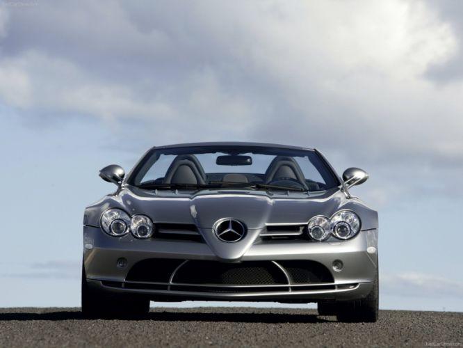 2008 benz McLaren Mercedes R199 roadster SLR Supercar wallpaper