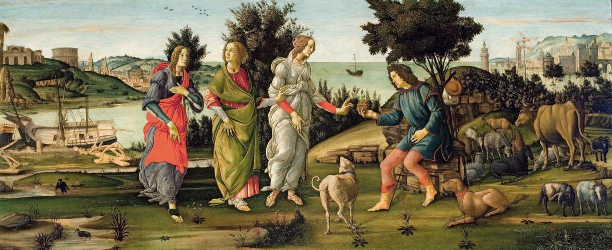 arte pintura renacimiento wallpaper