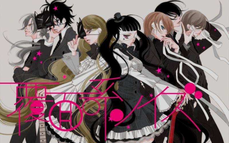 anime group Fukumenkei Noise Series Momo Sakaki Character Nino Arisugawa wallpaper