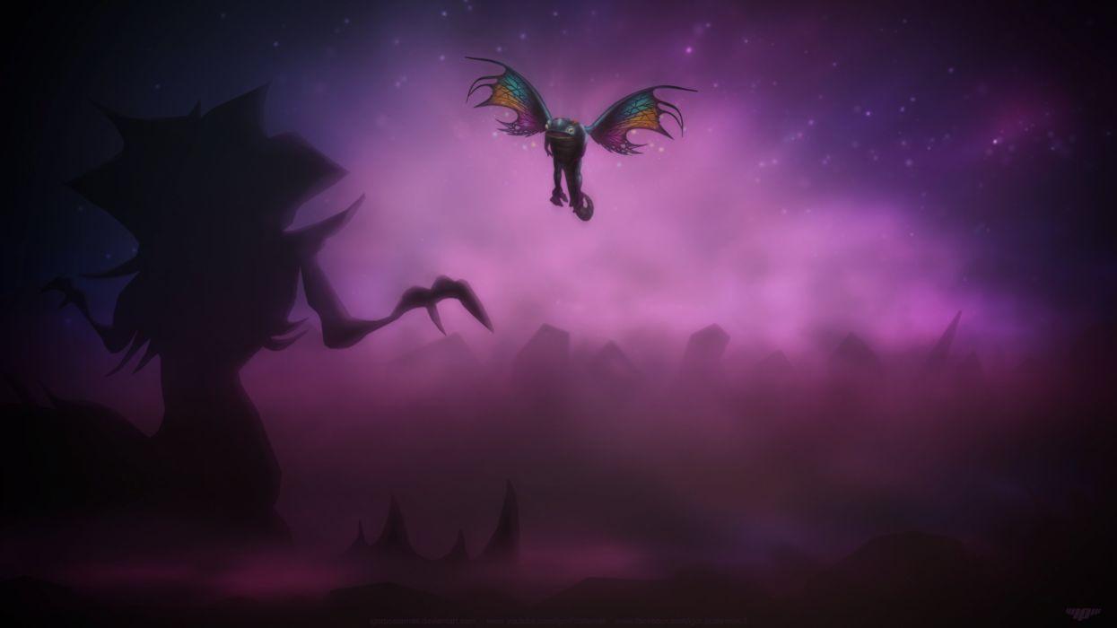 Brightwing VS Zagara Heroes Of The Storm wallpaper