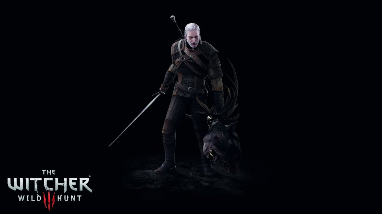 WITCHER 3 WILD HUNT fantasy action rpg fighting warrior dark three 1w3wh wallpaper