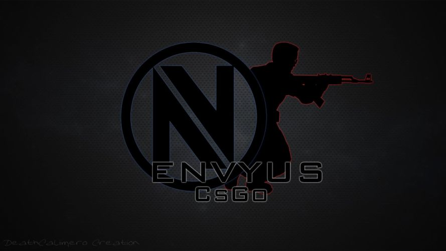 Team EnVyUs CS GO Logo Gunman wallpaper