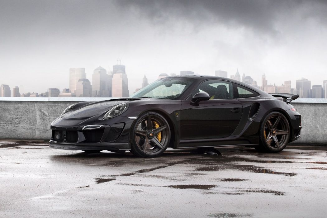 TopCar Porsche 911 Turbo Stinger GTR 991 coupe cars modified 2014 wallpaper