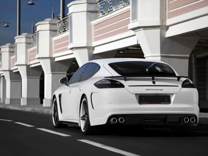 TopCar Porsche Panamera Stingray cars modified 2010 wallpaper