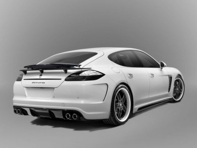 TopCar Porsche Panamera Stingray cars modified 2010 wallpaper