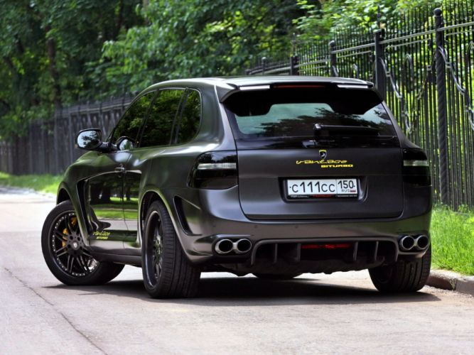 TopCar Porsche Advantage-GTR cayenne cars modified 2008 wallpaper