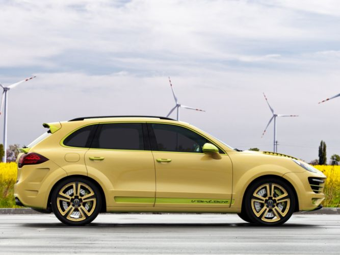 TopCar Porsche dvantage-2 cayenne cars modified 2010 wallpaper