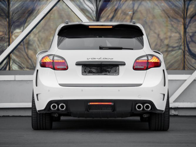 TopCar Porsche Avantage GTR-2 cayenne cars modified 2010 wallpaper