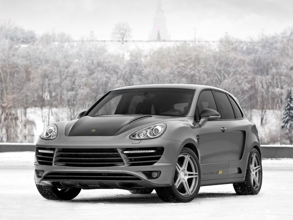 TopCar Porsche Avantage GTR-2 cayenne cars modified 2010 wallpaper